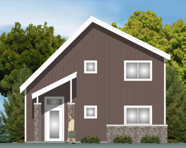 Energy Efficient Modern Home 103
