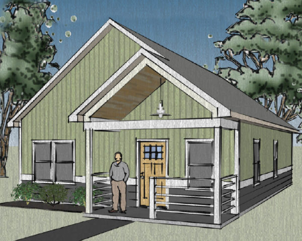 Modern Style Bungalow Home 171